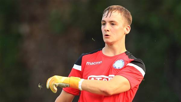 Schwarzer's son signs for English club