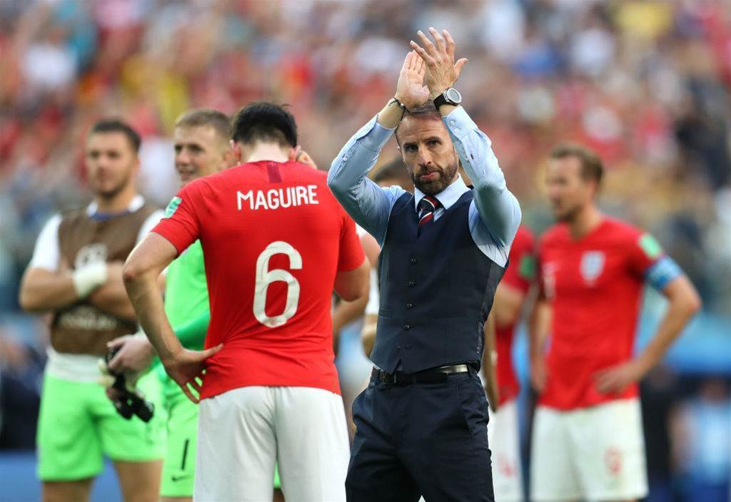 Southgate: England not among world's best four teams
