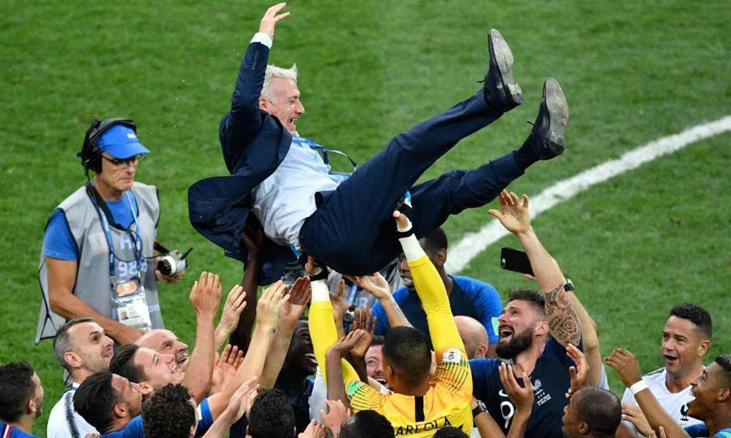 France players 'connected forever now' - Deschamps