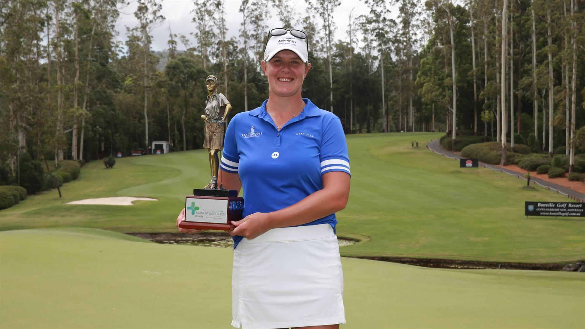Skarpnord claims Australian Ladies Classic