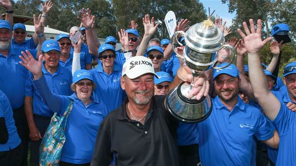 Burns Goes wire-to-wire to claim NSW Senior Open