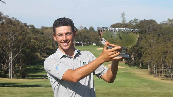 Roar talent: Hopewell's clutch putt clinches WA Open title