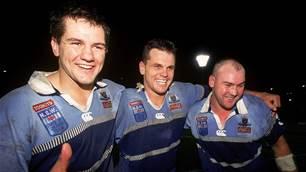 NSW shocks fans with two-blue Origin jersey