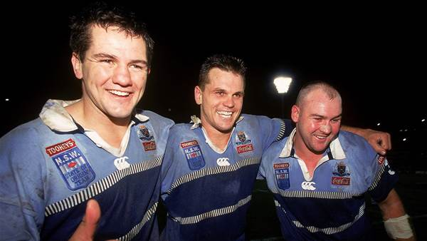 NSW shocks fans with two-blue Origin jersey