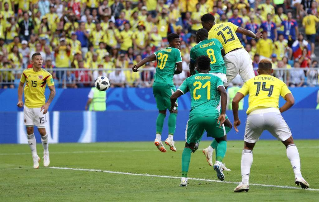 Senegal v Colombia player ratings