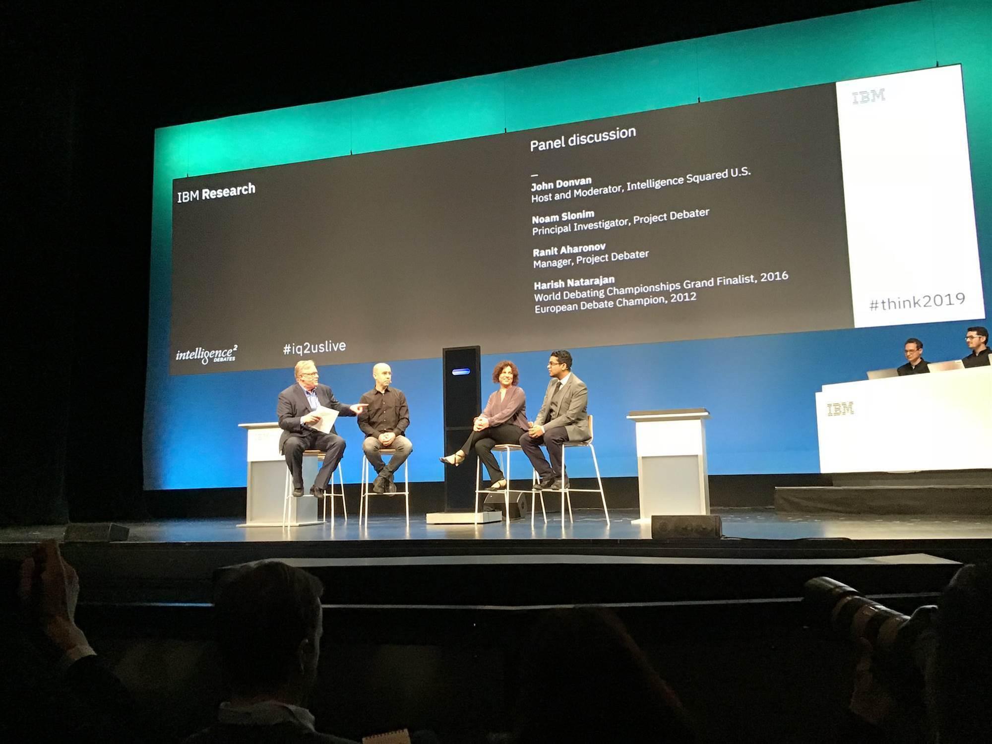 IBM's Project Debater loses live debate to human champion