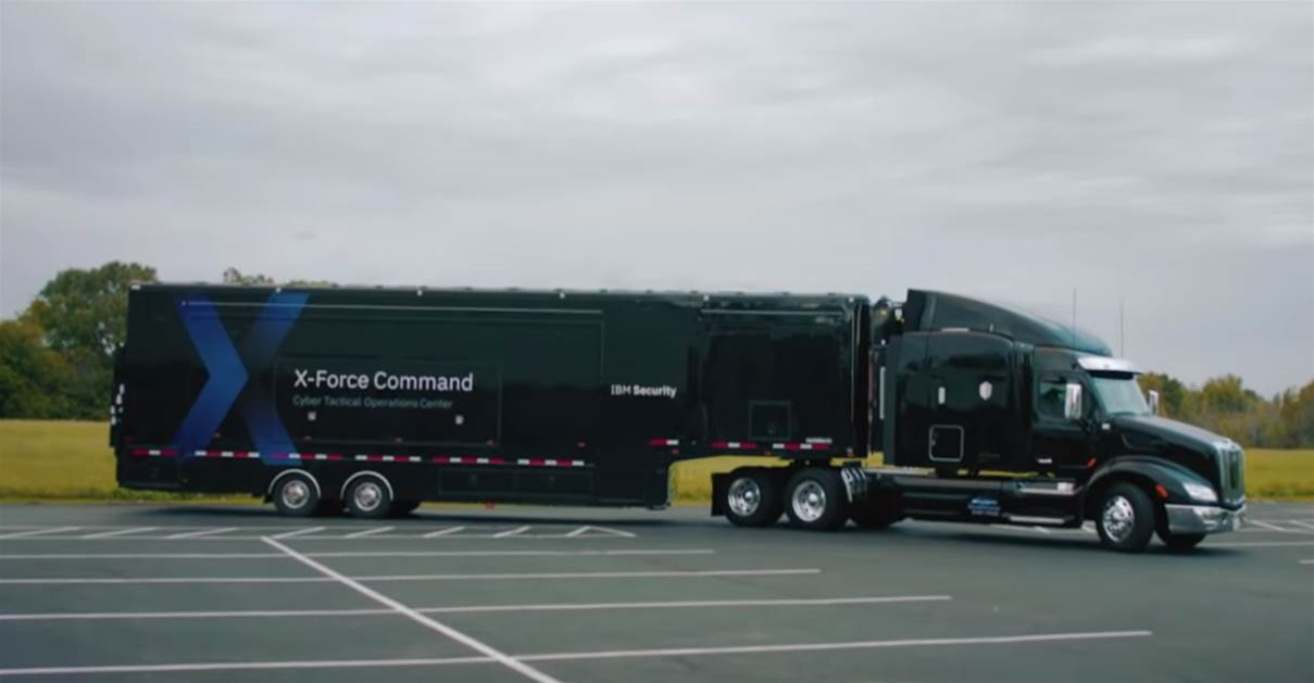 IBM puts tactical cybersecurity centre into a truck
