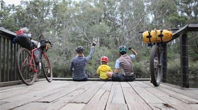 Bikepacking with kids