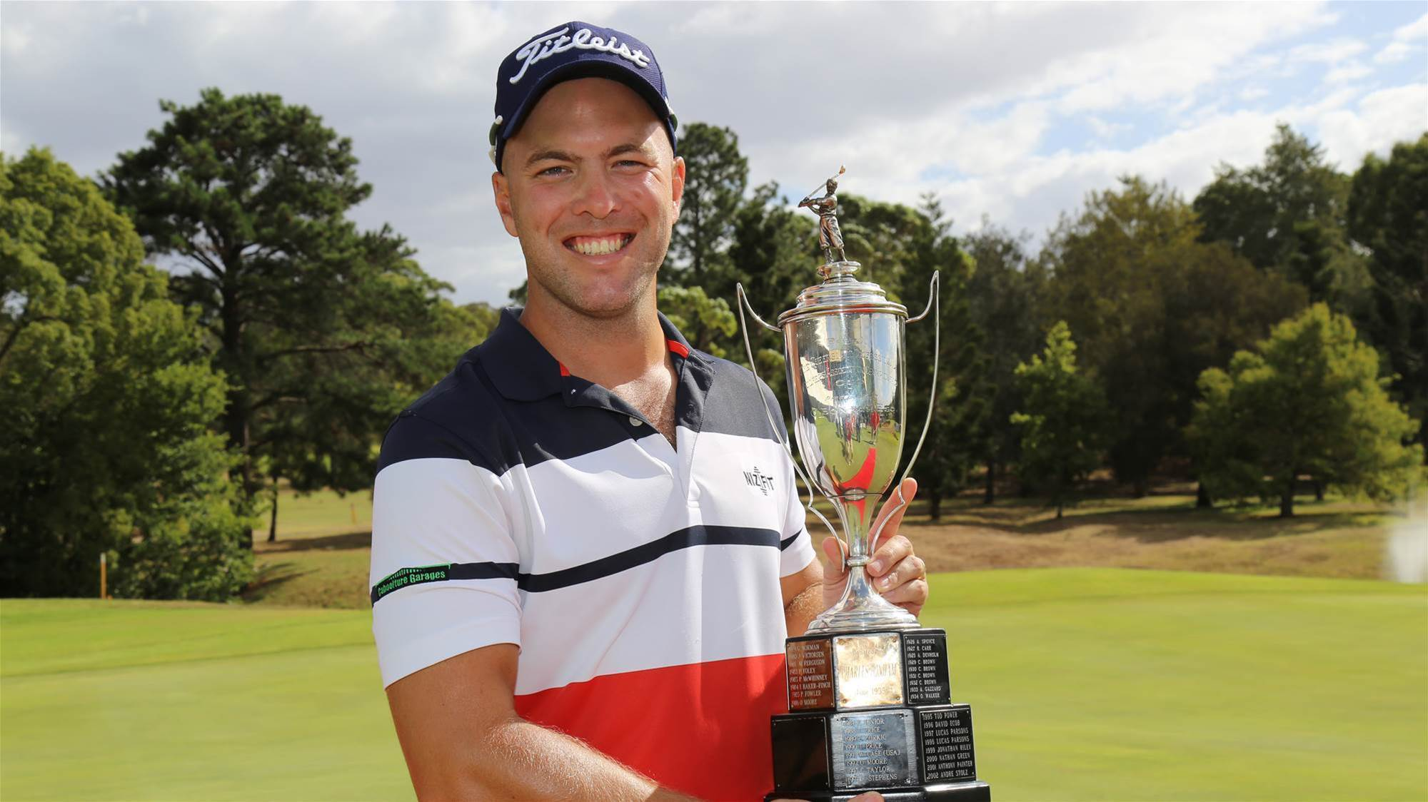 Nisbet cruises to QLD PGA victory