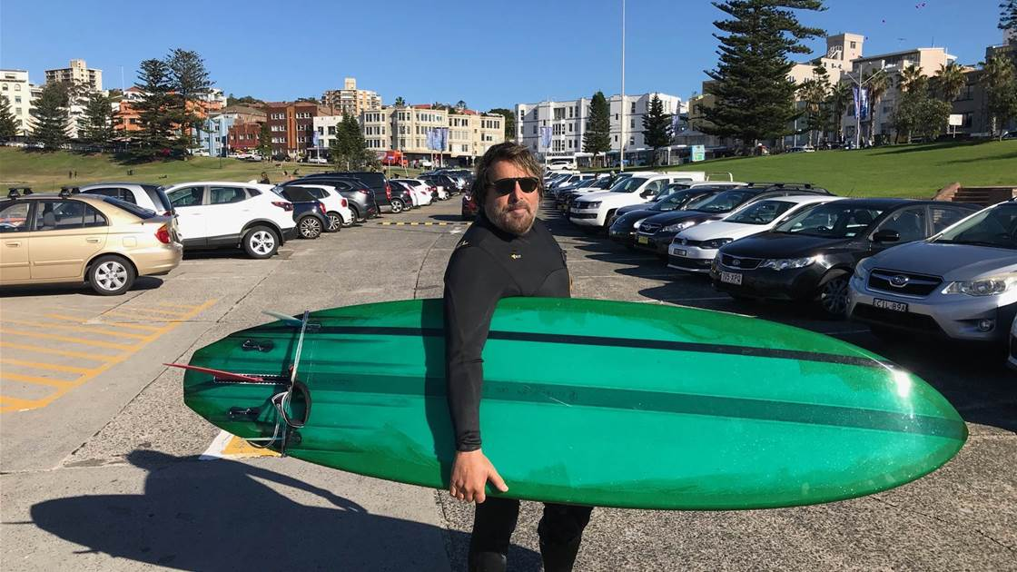 A Surf with Michael Oblowitz