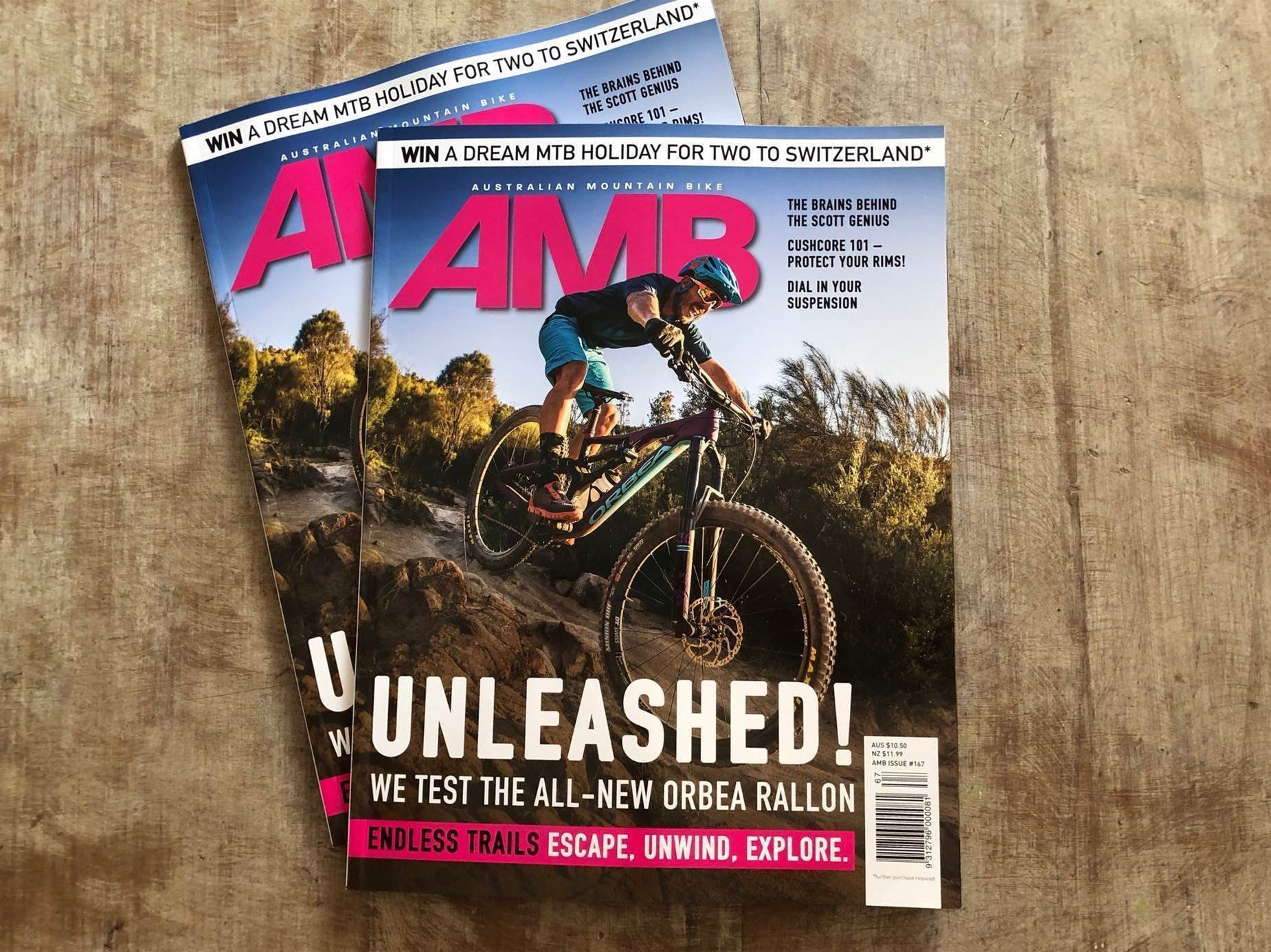 Take a look inside AMB Issue #167