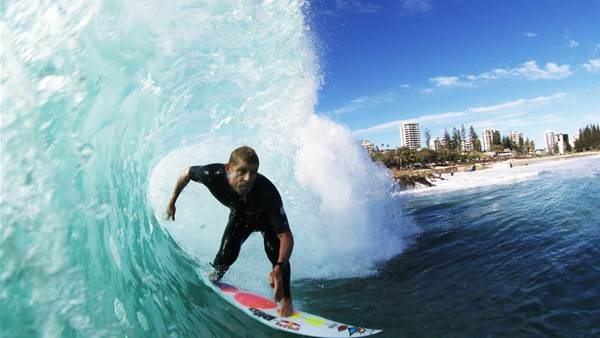 Surfing Australia signs broadcast deal with Channel 9 for TV surf competition featuring former World Champs Mick Fanning & Joel Parkinson.