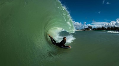 Surf Lakes Hits Maximum Target Wave Height!