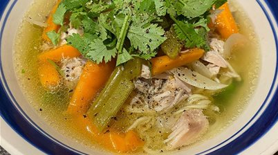 Recipe: Nourishing Chicken Noodle Soup