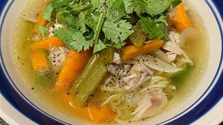 Recipe: Nourishing Chicken Noodle Soup