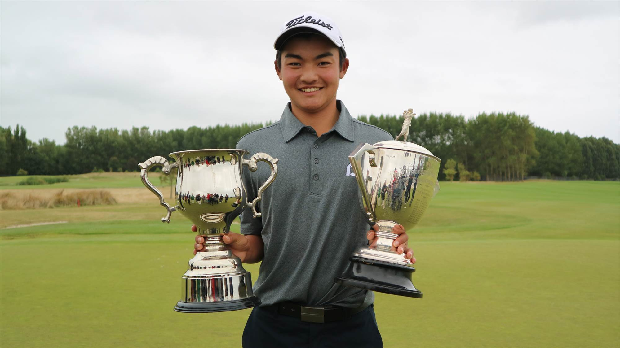 Amateur Kobori wins the NZ PGA Championship