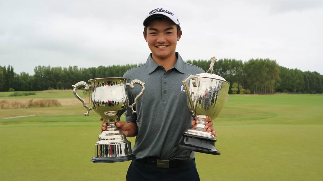 Amateur Kobori wins the NZ PGA Championship