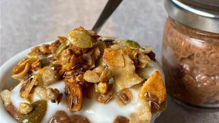 RECIPE: Double Cacao Chia pudding