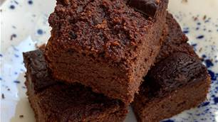 Recipe: Black Bean and Chocolate Brownie
