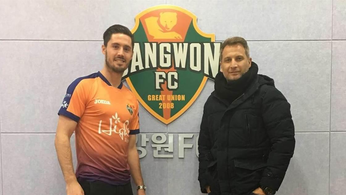 McGowan signs with Korean club