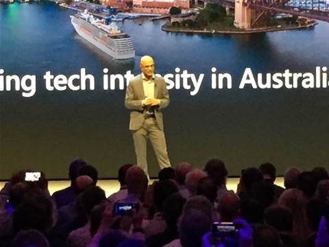 Satya Nadella sees dev people everywhere