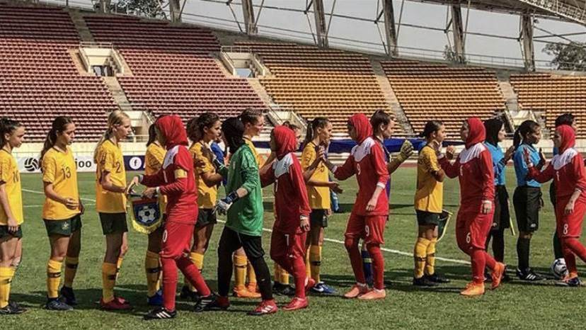 Junior Matildas slide past Iran