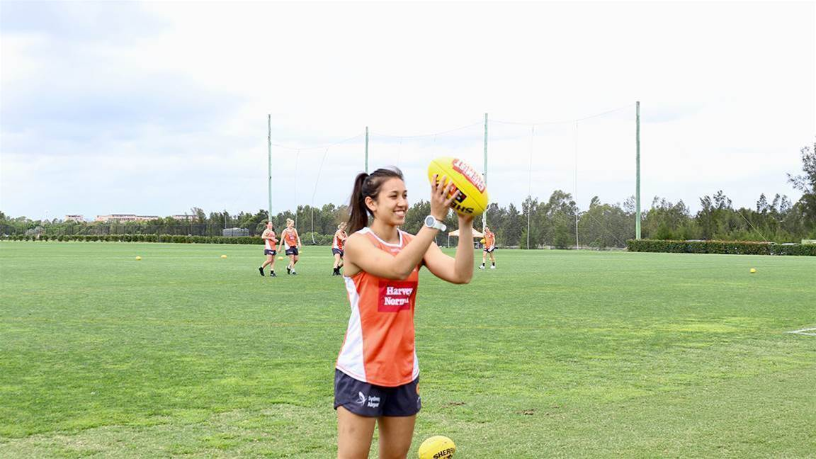 Rebecca Beeson on her AFLW journey