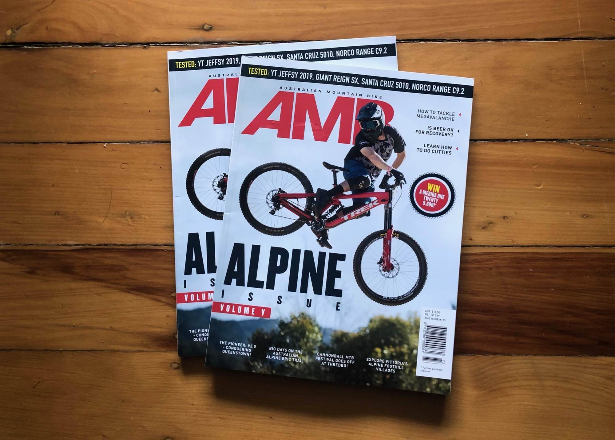 Get a look inside AMB Issue #173