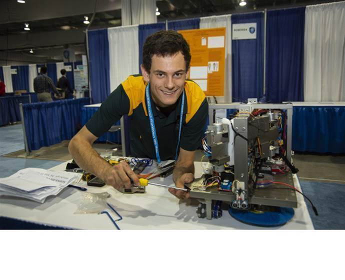 Aussie 19-year-old takes Intel prize for building drone