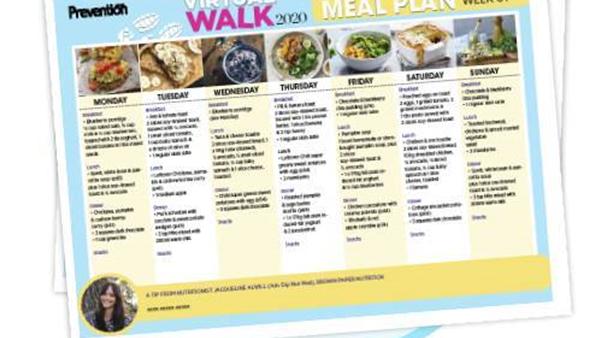 Week Six Meal Plan