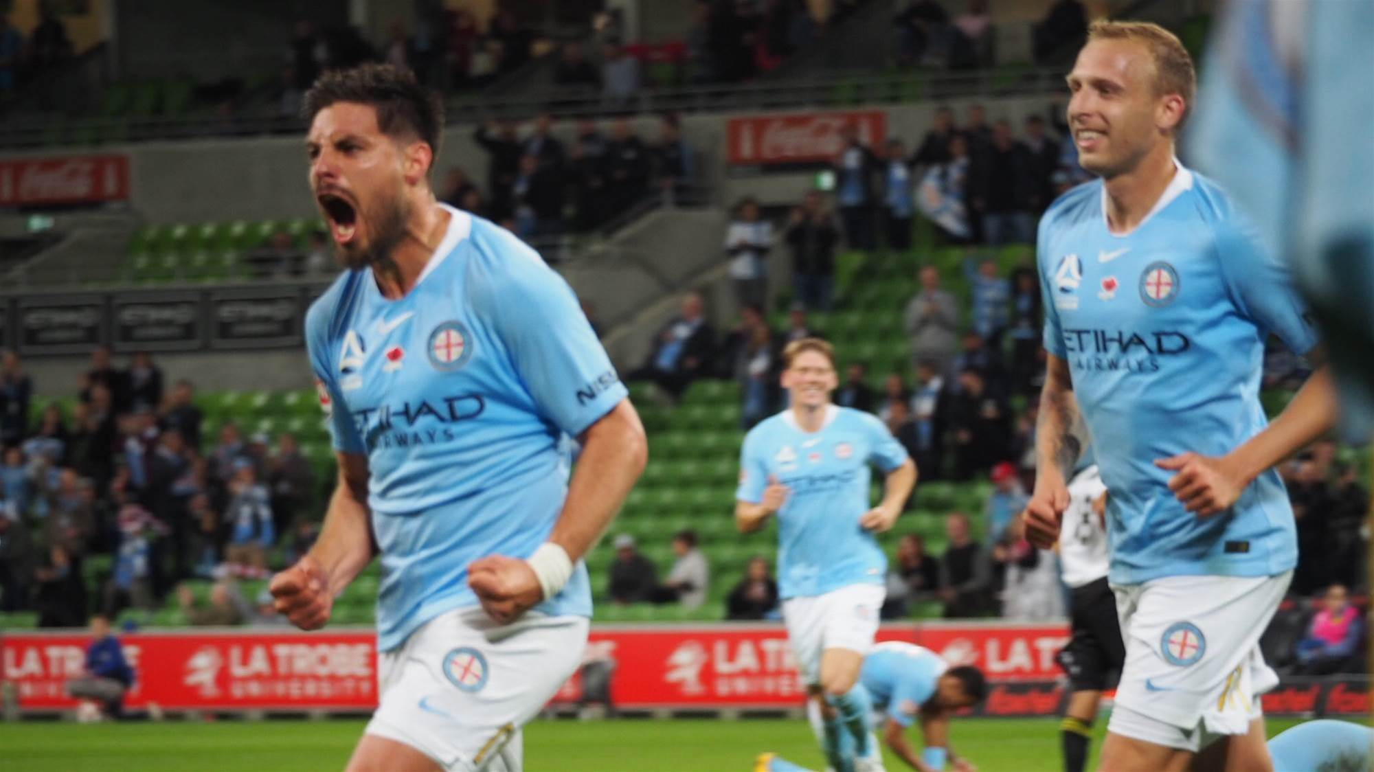 Pressure off! Fornaroli opens his account