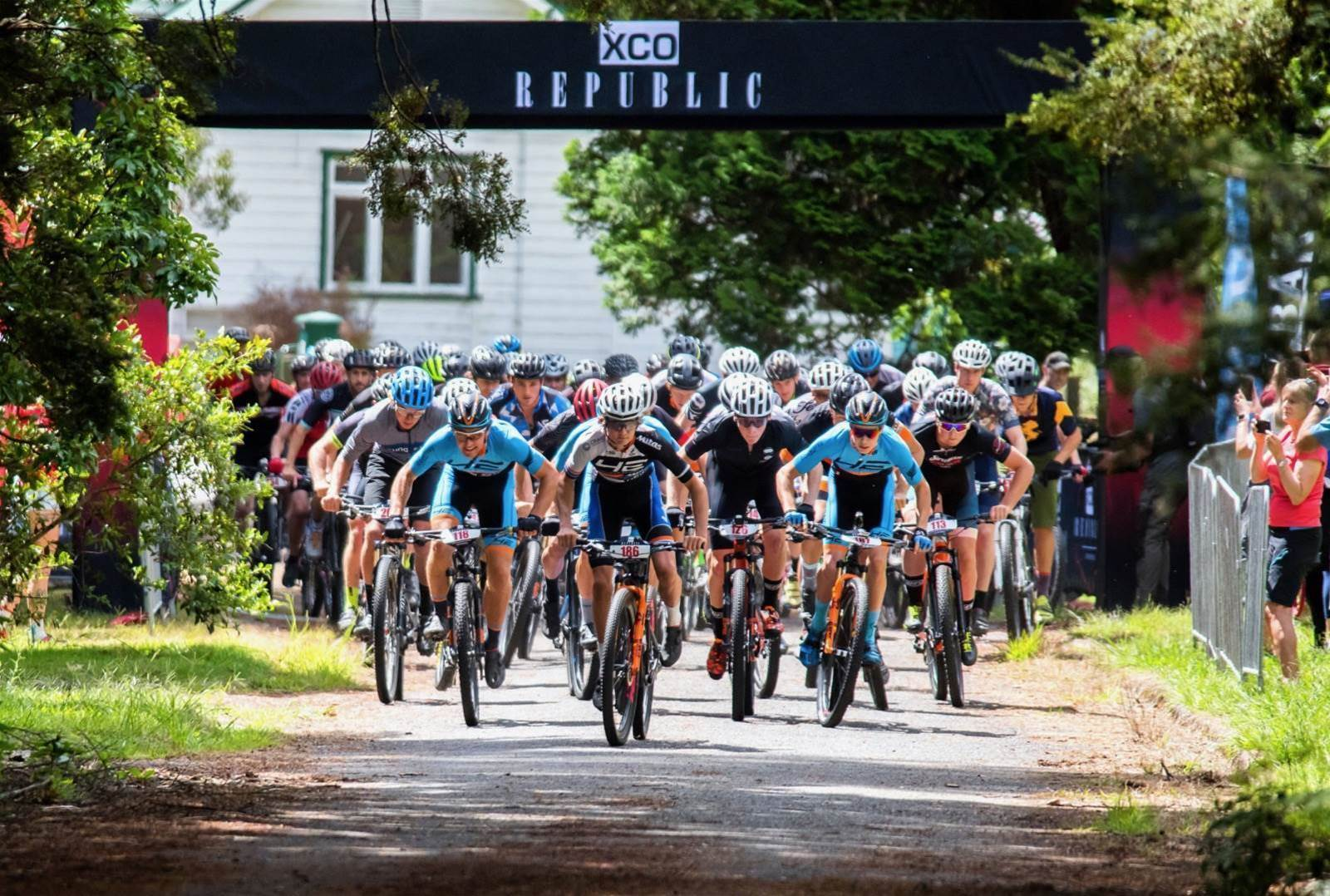 Shaw and Wilcox on top at XCO Republic