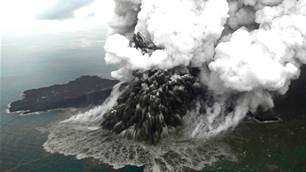 Anak Krakatau doesn't care if you know how to surf