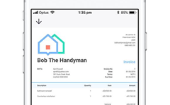 You can now send invoices via SMS and messaging apps