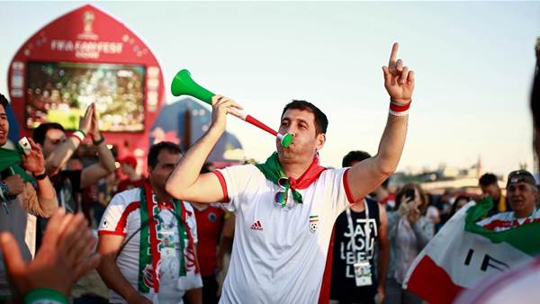 Iran: 'We have the best fans'