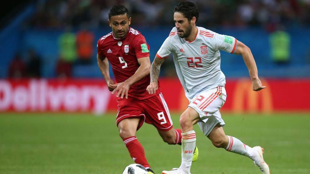 Iran v Spain player ratings