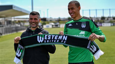 Western United's new polyglot A-League defender has arrived