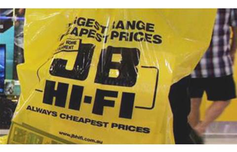 JB Hi-Fi changes tune: results mention 'Commercial' business, not Solutions