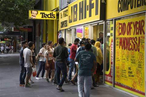 JB Hi-Fi sees strong sales growth despite store closures