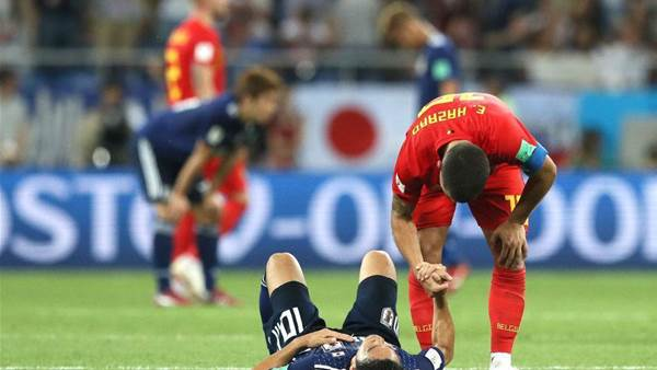Belgium v Japan player ratings