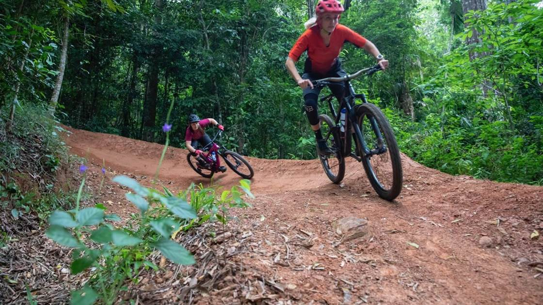 Women's MTB growth in the Tropics
