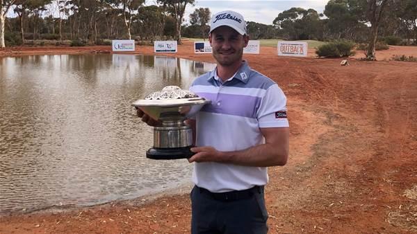 Felton ends Kalgoorlie hoodoo to win WA PGA