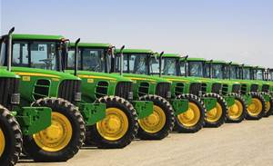 John Deere taps tractor-hailing tech in bid to break ground in Africa