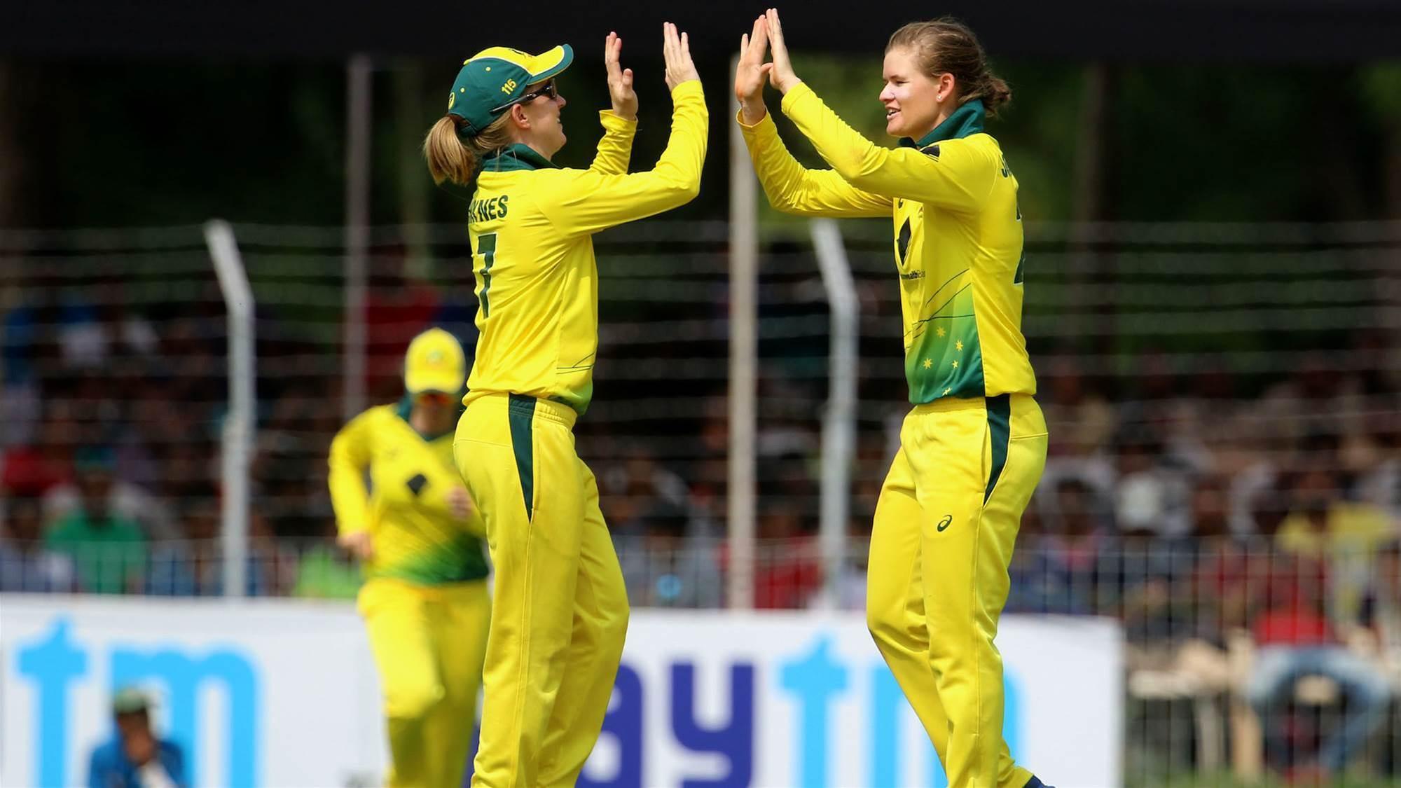 Jess Jonassen: Australia to take form into T20 formate