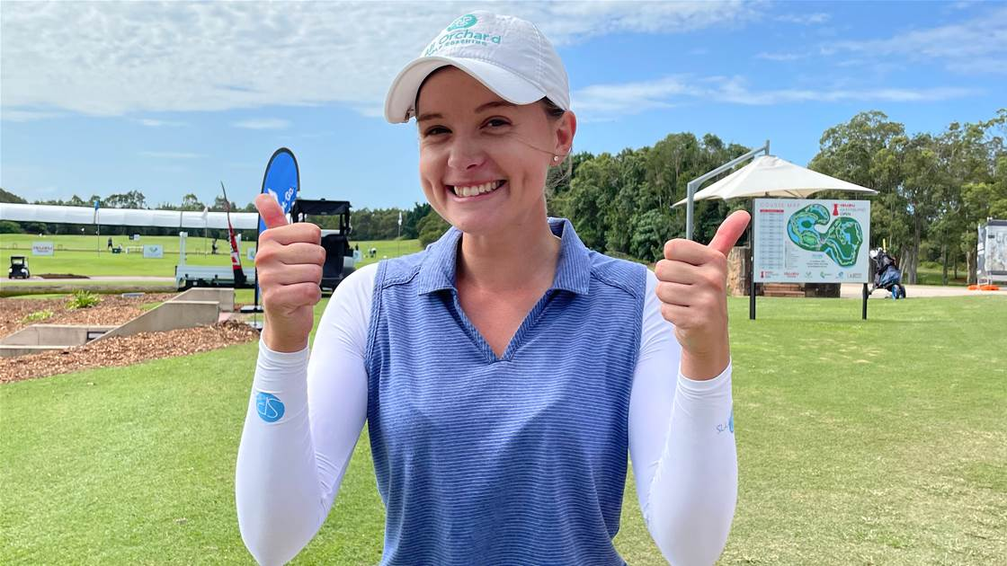 O'Brien earns her spot in Queensland Open