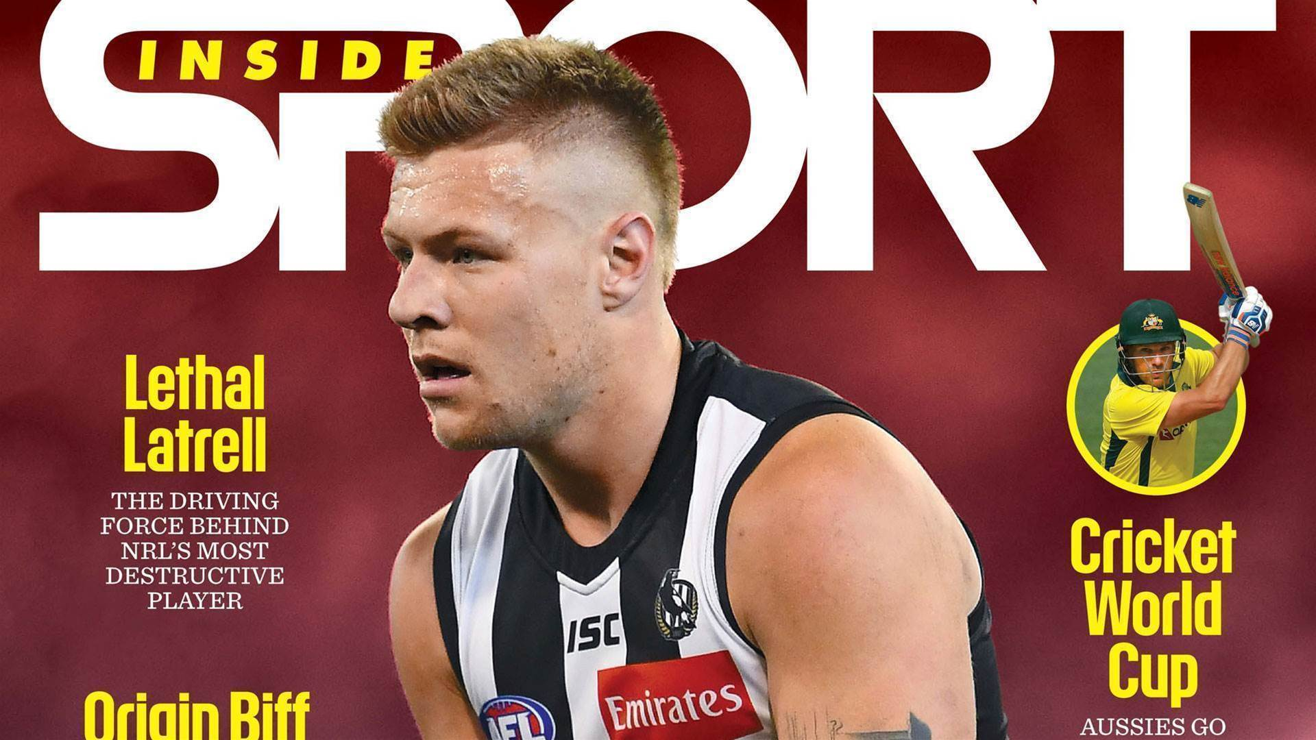 June 2019 issue of Inside Sport on sale now
