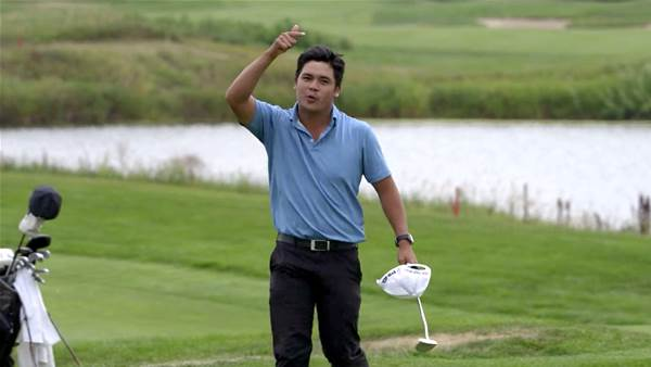 Filipino Quiban earns dream debut on PGA Tour