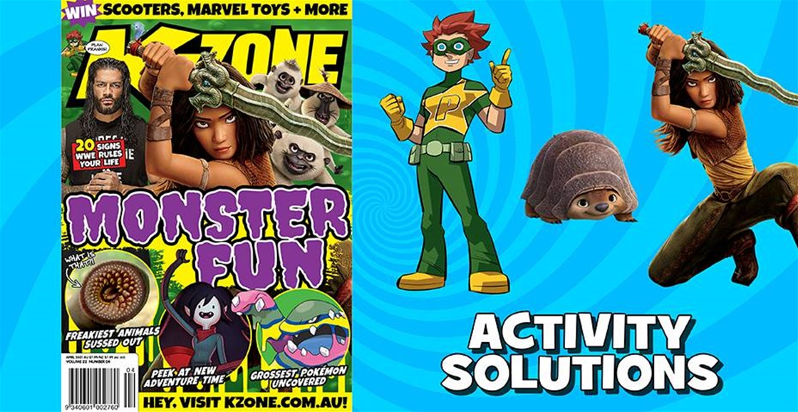 APRIL 2021 ISSUE ACTIVITY SOLUTIONS