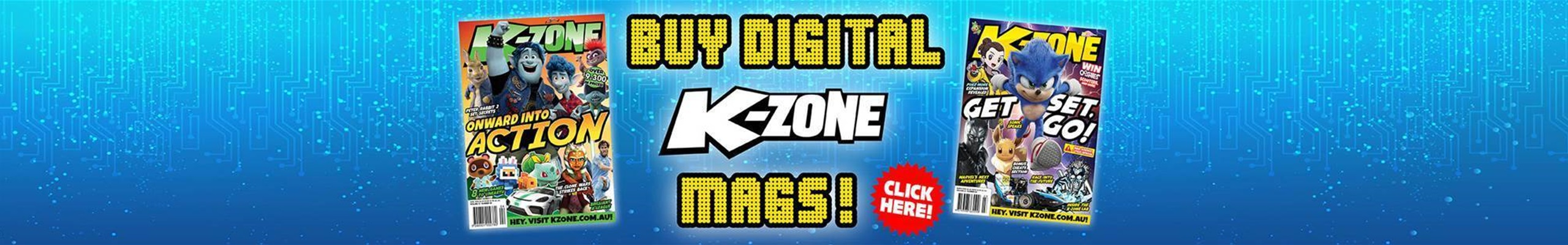 You Can Buy Digital K-Zone Mags!