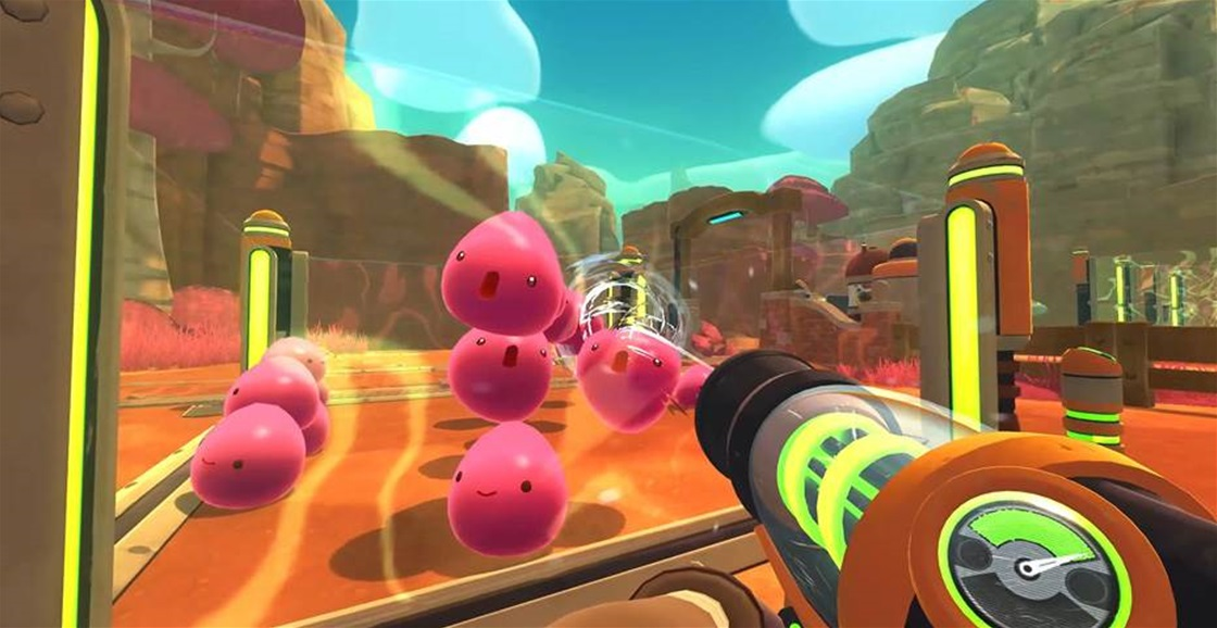 Playing Now: Slime Rancher: Deluxe Edition